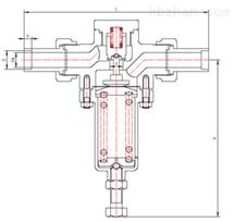 DY22F低温升压调节阀