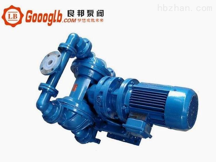 永嘉良邦DBY-15型衬氟电动隔膜泵