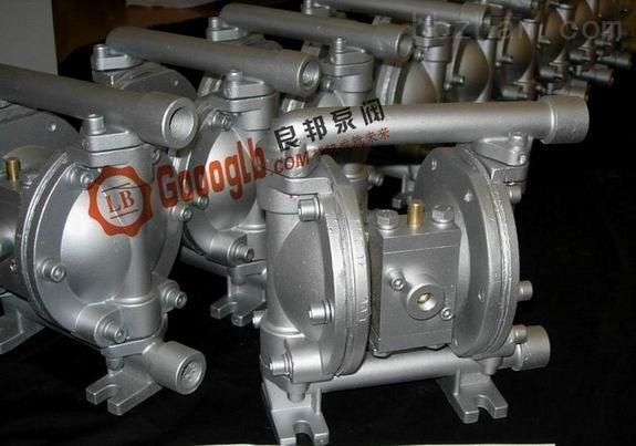 永嘉良邦QBY-65不锈钢304气动隔膜泵