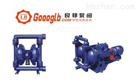 永嘉良邦QBY-65气动电动隔膜泵良邦制造