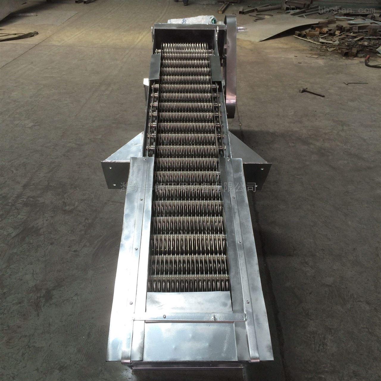 高效不停机不锈钢回转式机械格栅设备
