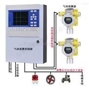 氢气可燃气体报警器 氢气泄漏报警器联动排风扇