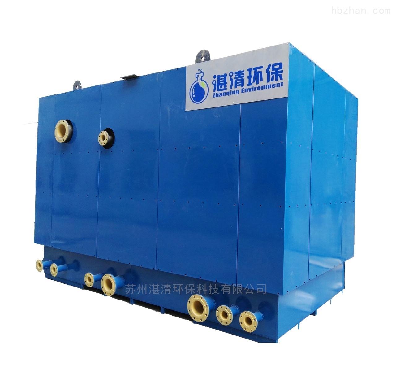 总氮处理设备循环冷却排污水处理总氮的方法