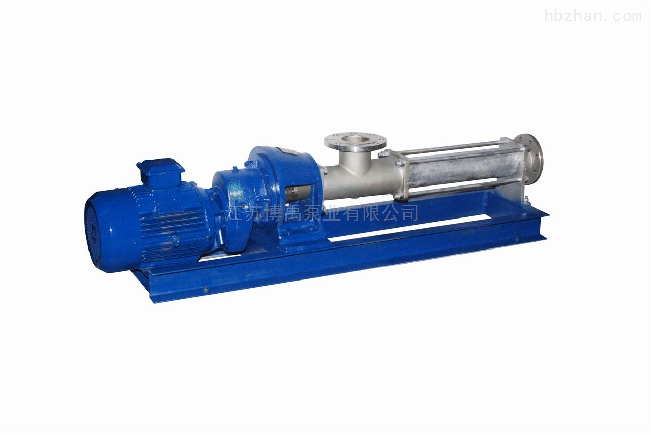 单螺杆泵型号及参数选型