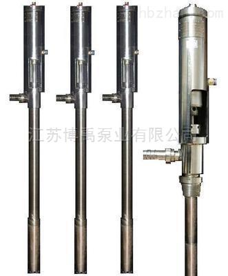 氣動高粘度插桶泵