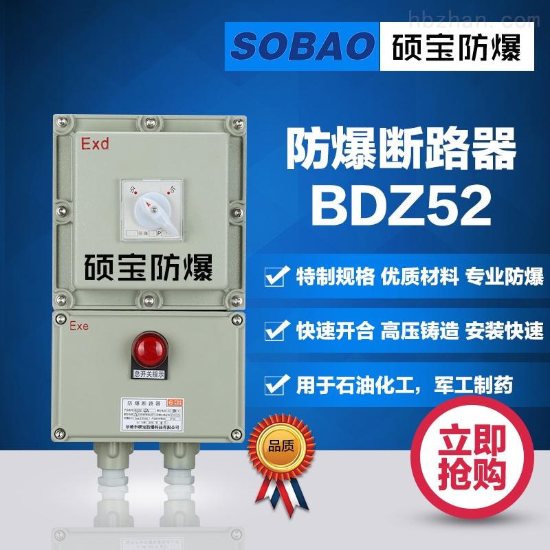 BLK52-32A/3P 防爆断路器  16A/3P  63A/3P带漏电开关