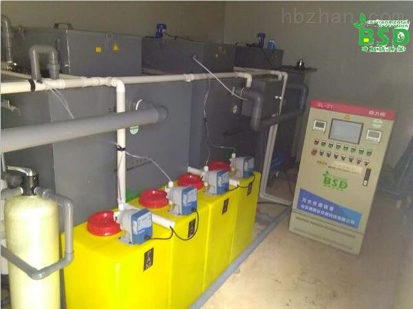 巴中实验室污水处理设备验收合格