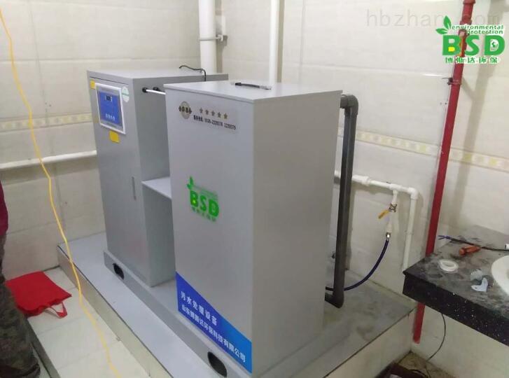 兴安盟食品检测实验室污水处理设备出水合格