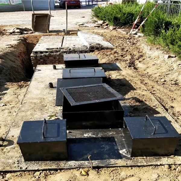现货地埋式一体化污水处理设备 定制加工