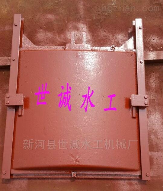 DN1000-管道铸铁拍门安装