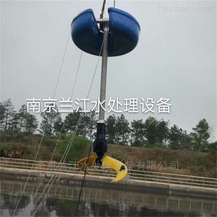 浮筒潜水搅拌机安装方法