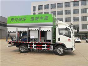 天津嘉中河道污水处理车-清洁高效