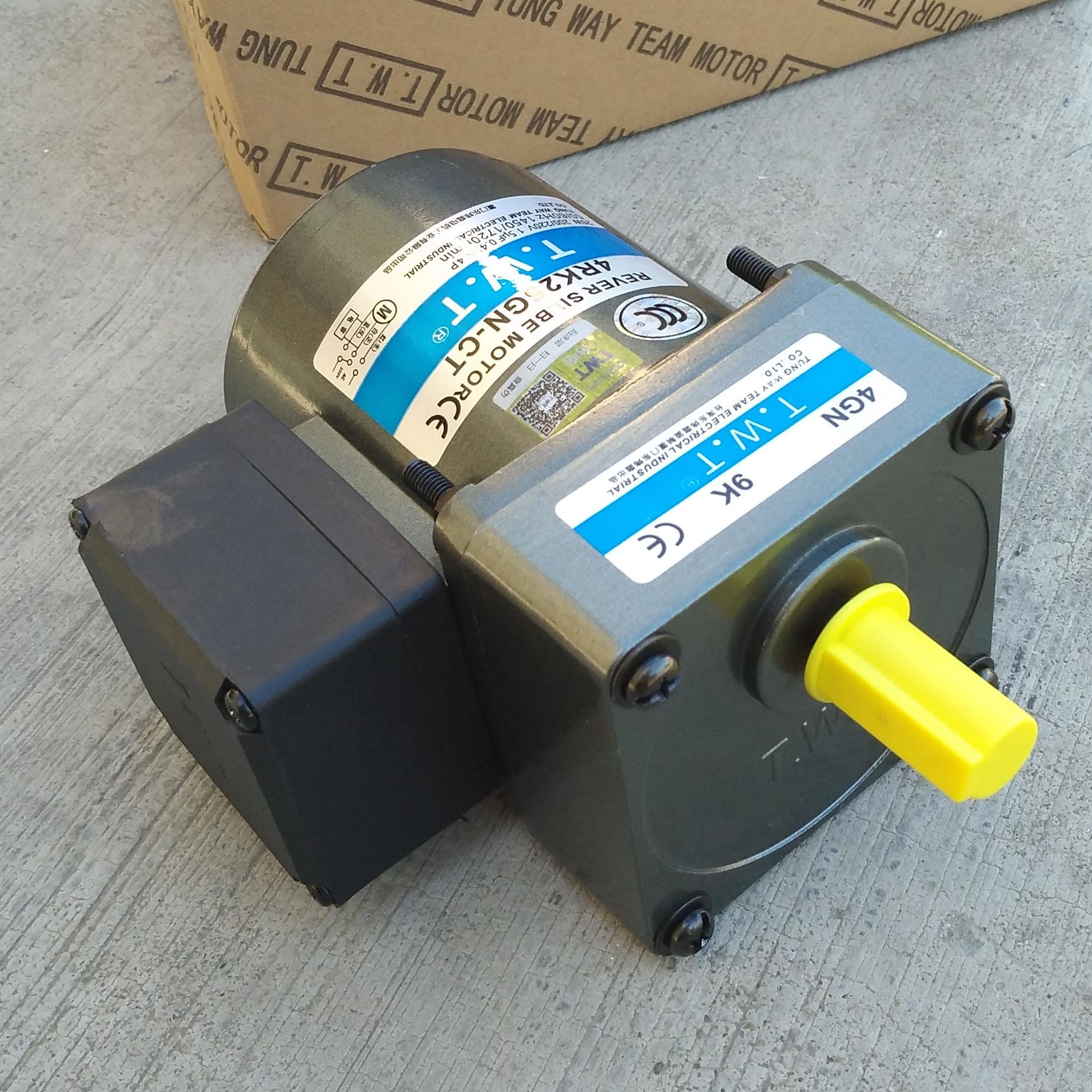 自动贴标机TWT东炜庭微型可逆减速电机