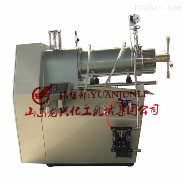 山东龙兴纳米棒销式砂磨机生产厂商