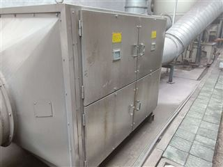 山东日照食品厂废气处理设备