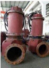大流量双吸式潜水排污泵