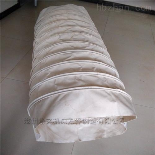 自定振动筛耐磨帆布输送软连接价格