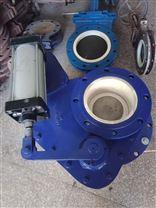BZ643TC气动陶瓷摆动阀厂家直销