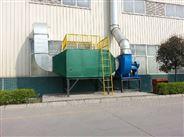 噴漆車間廢氣處理裝置