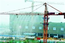 天津工地扬尘处理解决方案,用塔吊喷淋系统降尘效果如何