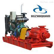 卧式柴油机消防泵