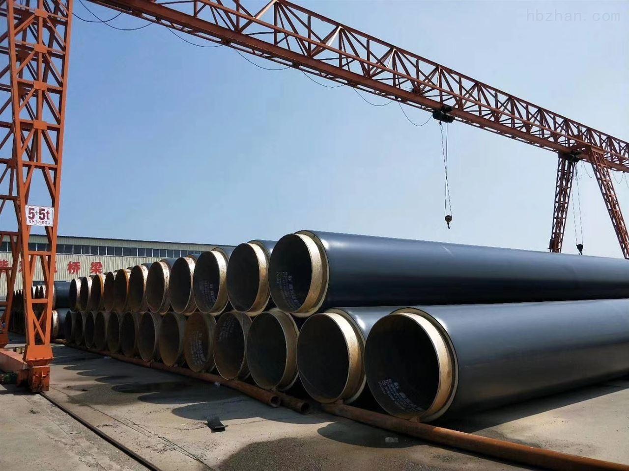 钢套钢蒸汽直埋保温管厂家