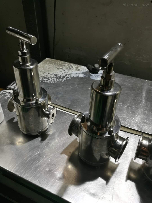 卫生级快装直动式减压阀