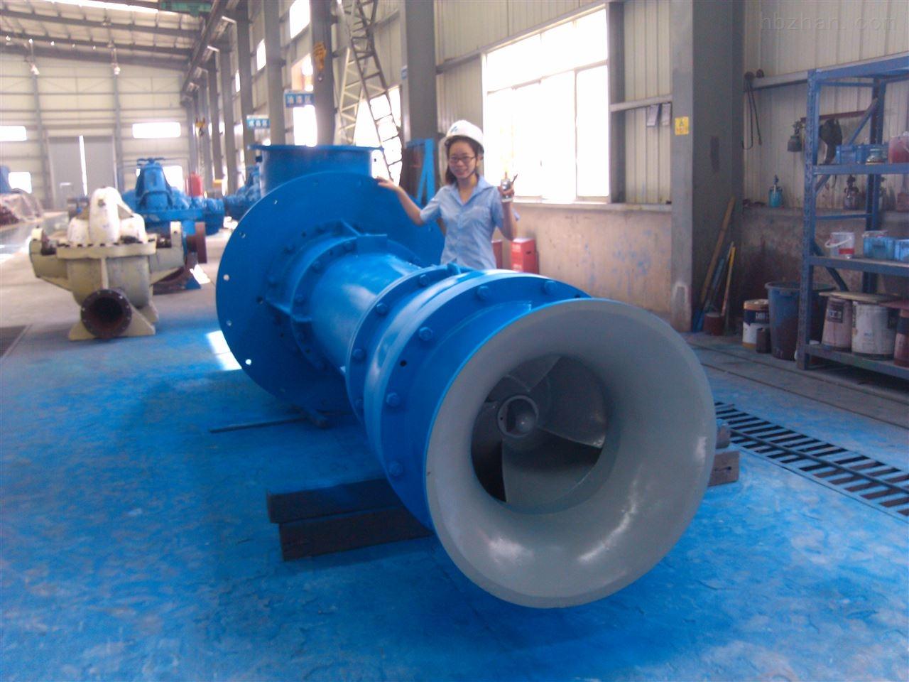 長軸軸流泵