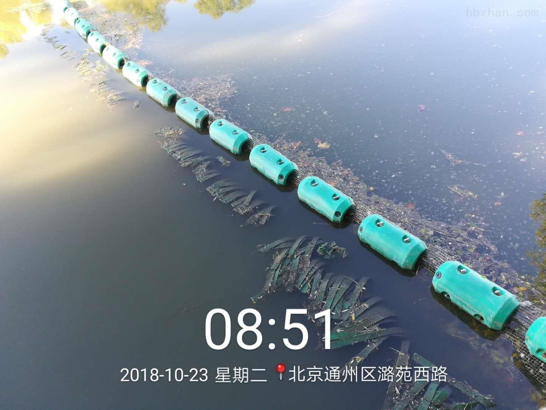 河道拦污设备结构浮筒样式