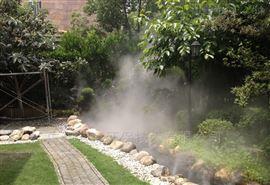 云浮园林景观造雾