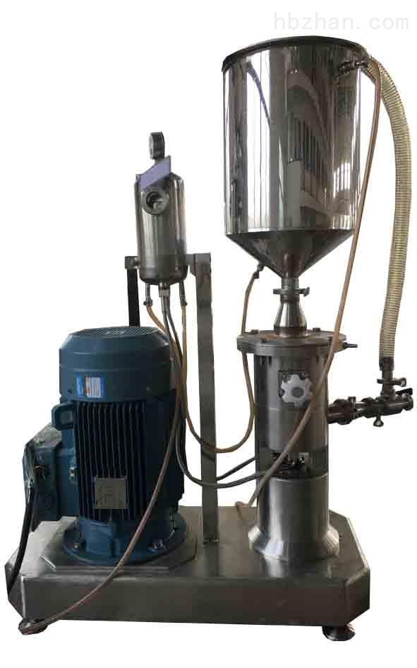 上海思峻新研发硅酸铝纤维升级版胶体磨