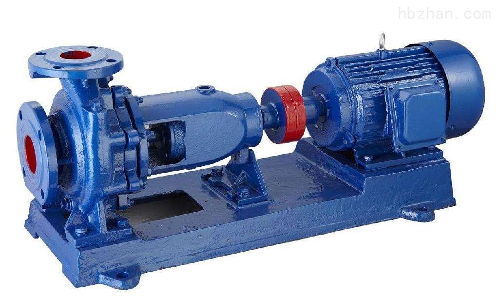 单级悬臂卧式离心水泵型号参数选型