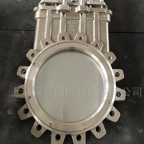 不锈钢插板阀PZ73H-16P