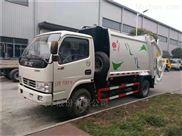 垃圾压缩车与普通垃圾车对比