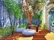佛山私家花园设计就找五行园林装饰