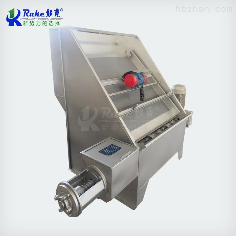 RKSF固液分离器 螺旋式挤压分离器 粪便脱水机