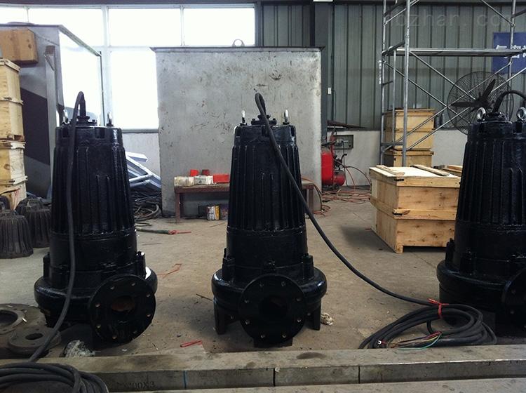 qwb潜水排污泵、蓝深潜水排污泵WQ400-26-55