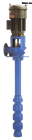 qj深井泵、软轴深井泵300RJC185-12深井泵配件、微型深井泵