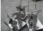 不锈钢移动袋式过滤器