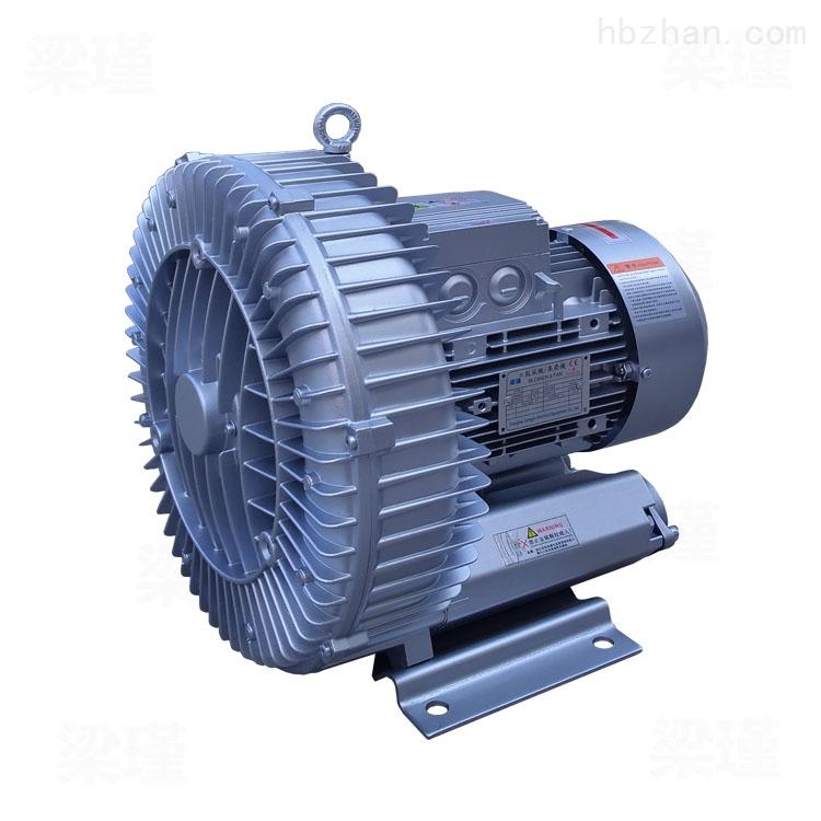 低噪音被褥抽真空包装用4KW高压鼓风机