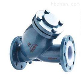 Y型藍式過濾器襯F46供應