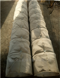 耐磨损帆布吊环式除尘通风软连接
