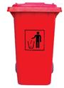 环保滚塑 大容量果壳垃圾桶 广州塑料厂