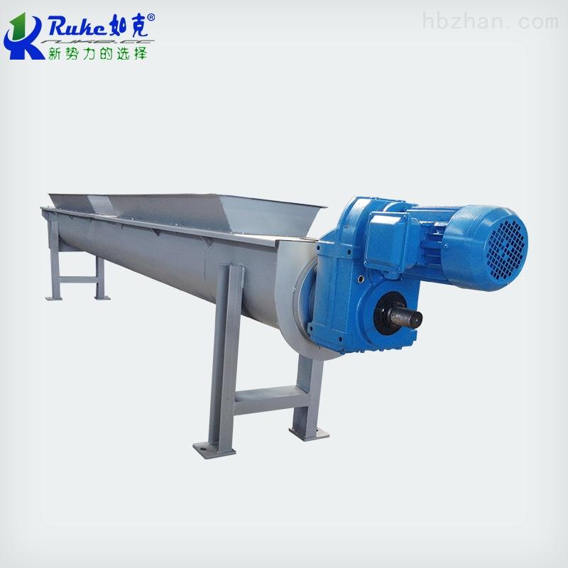WLS-355如克环保水平式无轴螺旋半流体物料输送机