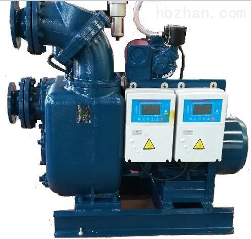 全自动真空辅助自吸抽水泵