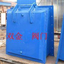 方形拍门、钢制焊接结构、水渠管道止回作用