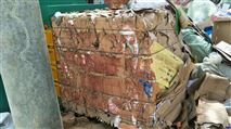 振科机械废品收购站多功能废纸打包机效果好