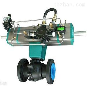二段式气缸气动球阀