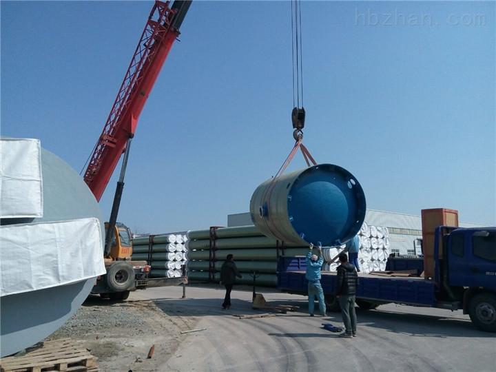 三明市玻璃钢一体化预制泵站