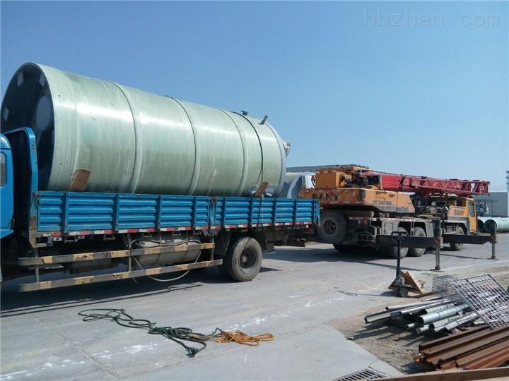 安徽省黄山市玻璃钢一体化预制泵站